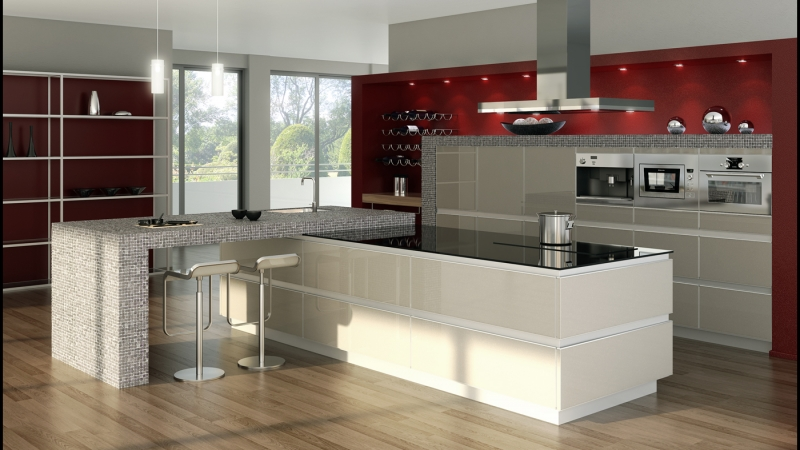 3d kitchen design and projects