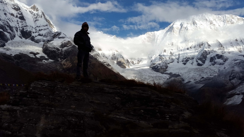 Travel to himalayas